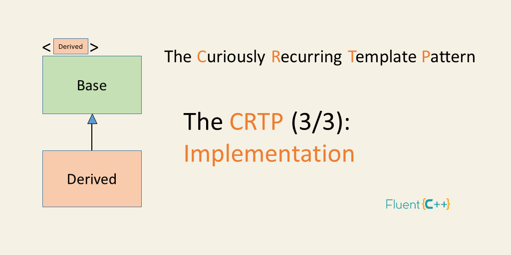 CRTP implementation curiously recurring template pattern