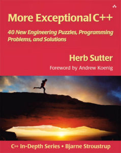 More Exceptional C++