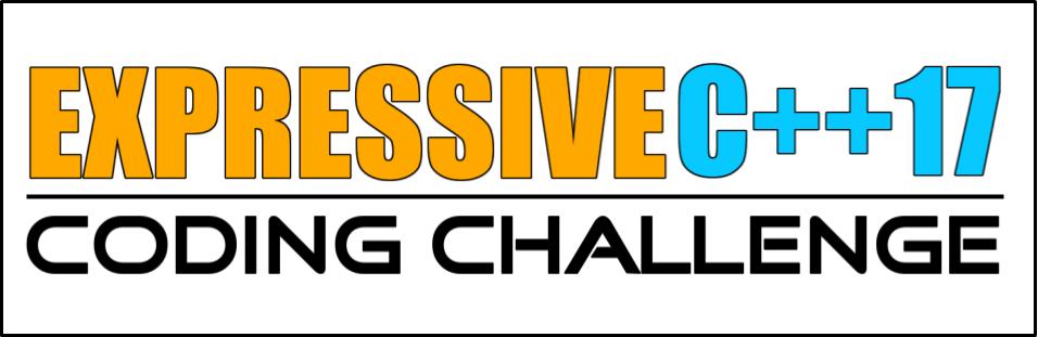 Expressive C++17 coding challenge