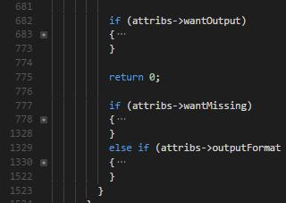 horror code