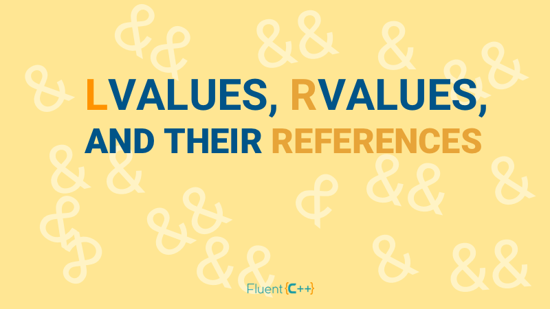 lvalue rvalue references C++