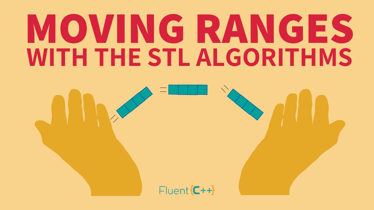 Moving Ranges Around With Stl Algorithms Fluent C