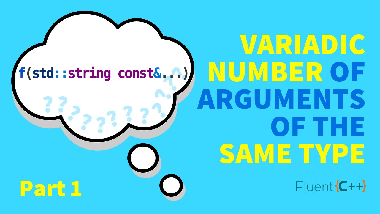 How to Define a Variadic Number of Arguments of the Same