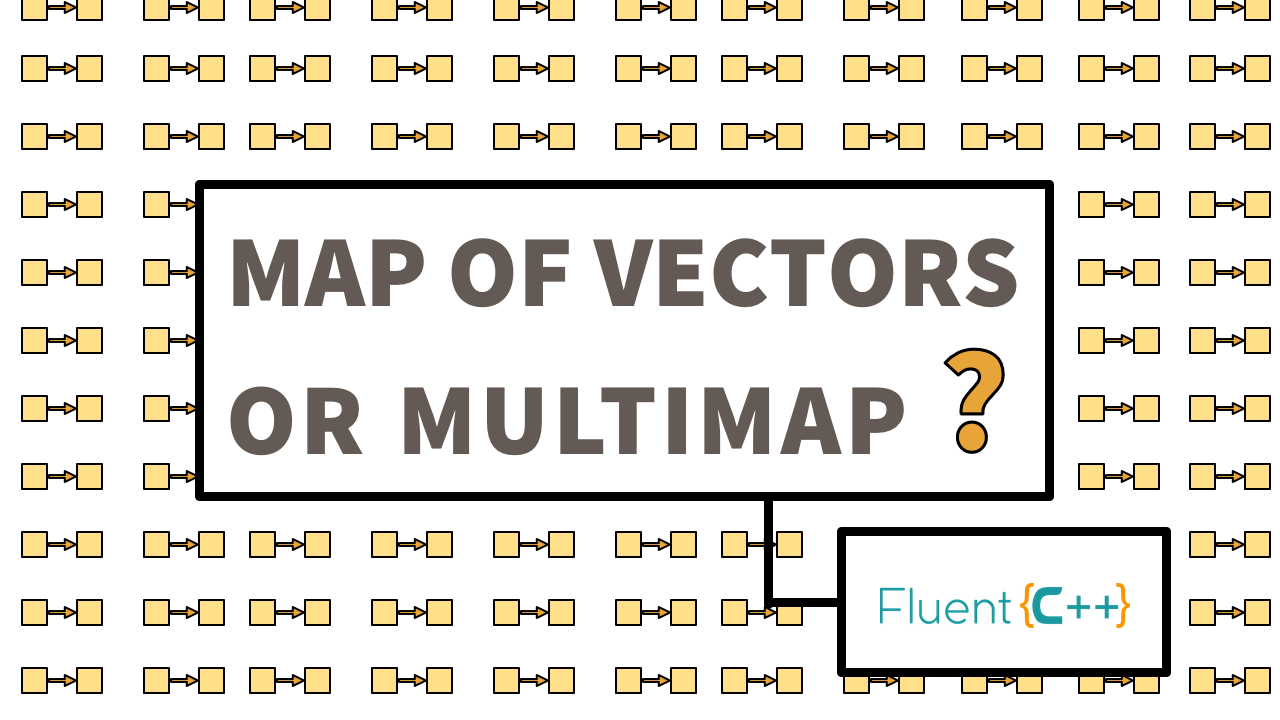 Which One Is Better: Map of Vectors, or Multimap? - Fluent C++