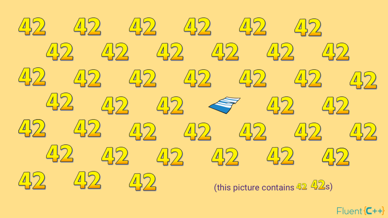 Beautiful Pieces of Code That Print 42 for Towel Day - Fluent C++